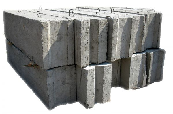 Железобетонные блоки для фундамента